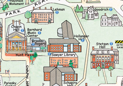 Issue Summer Anthropology Sociology - Williams college campus map